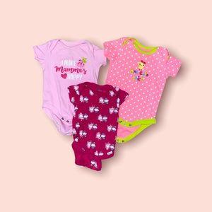Baby Girl Shirts (x3)